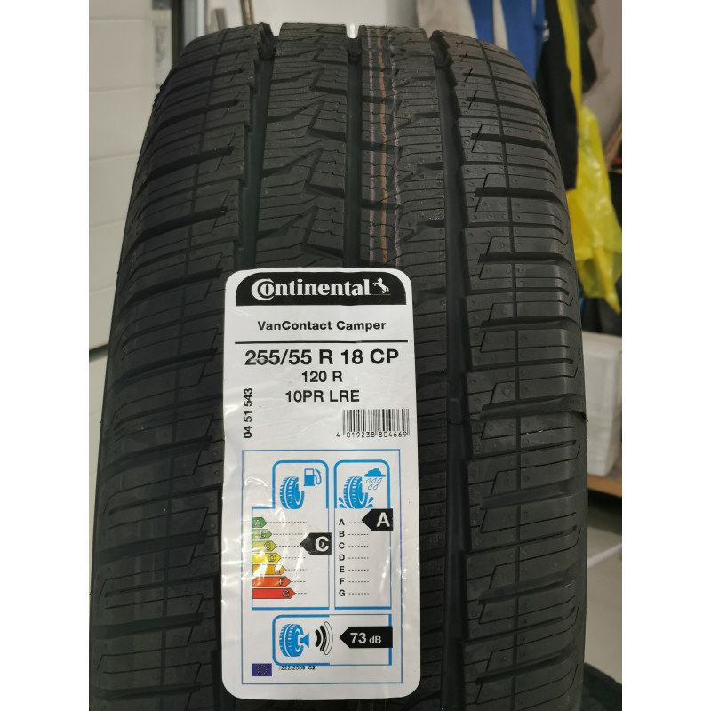 Continental Van Contact Camper -255/55r18  li 120